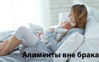 Размер алиментов на внебрачного ребенка: порядок взыскания, сколько причитается по закону?