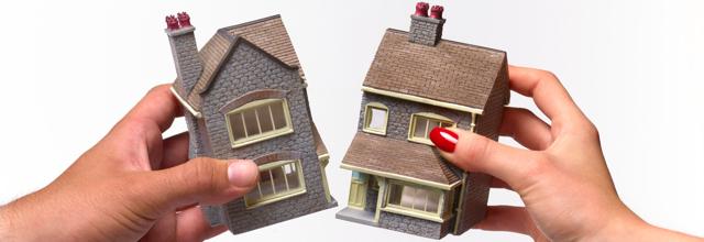 Как делить квартиру при разводе, если доли неравнозначны?