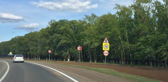 Забрали права: выезд на встречную полосу при объезде препятствия