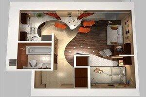 Увеличение кухни за счет комнаты - что нужно для такой перепланировки, как узаконить ее