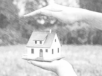 Как происходит раздел незарегистрированного дома в случае развода?