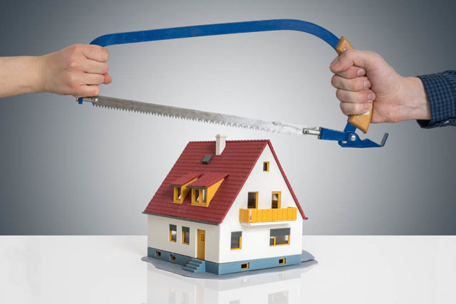 Развод супругов: если квартира куплена НЕ на общие доходы - как ее делить?