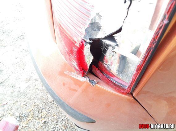 Сам повредил машину - нужно ли вызывать ГИБДД?