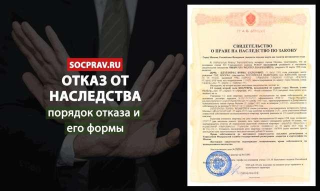 Отказ от наследства после 6 месяцев - сроки, заявления, документы для суда, порядок отказа