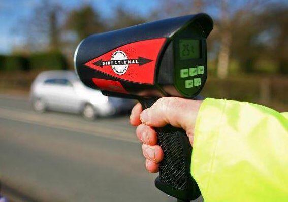 Забрали права за превышение скорости